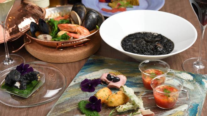 Por Ta Vinho IZARRA  - 料理写真:コース料理の一例(日替わり)