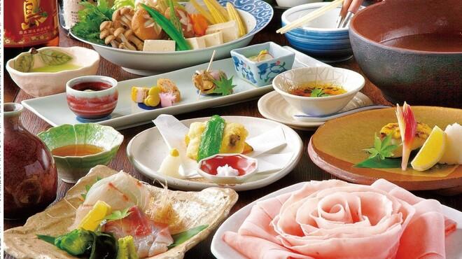 ぼんぐう・kurobuTa - 料理写真:悠幸コース3300円