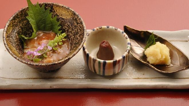 天ぷら わかやま - 料理写真:前菜
