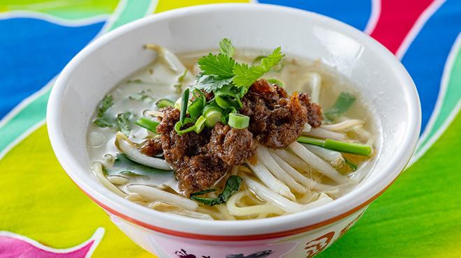 台南担仔麺 - メイン写真:担仔麺