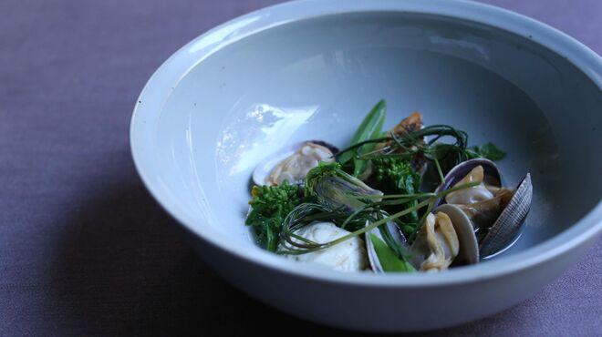 ジェルモーリオ - 料理写真:日本の器を取り入れ新たな表現を。