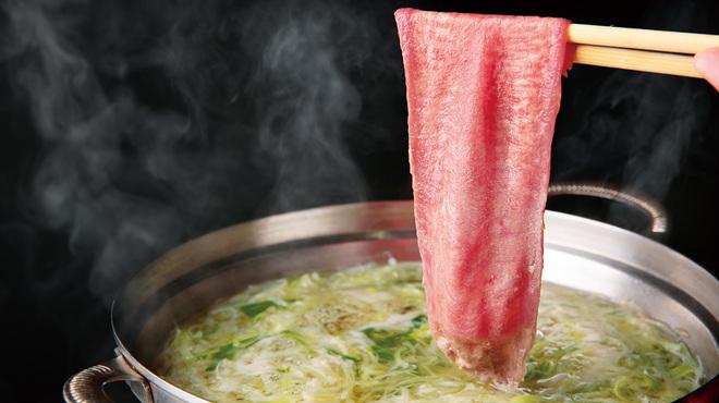 もつ鍋 慶州 - 料理写真:タンしゃぶ
