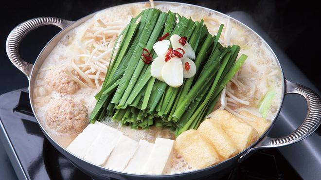もつ鍋 慶州 - 料理写真:もつ鍋 白みそ味