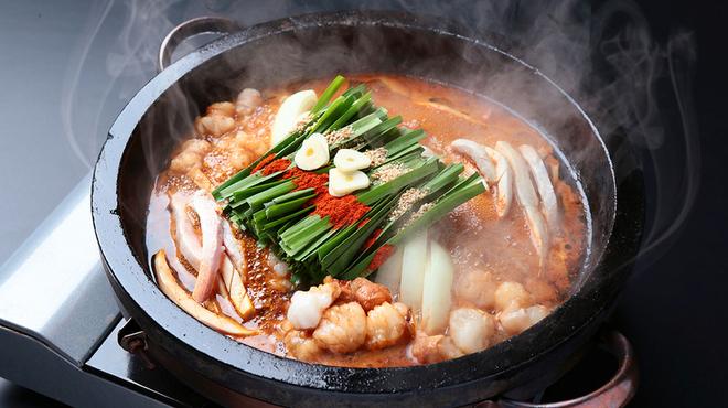 もつ鍋 慶州 - 料理写真:石焼きホルモン鍋
