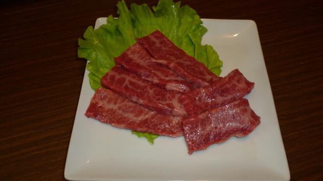 焼肉苑 うまい - 料理写真:黒毛和牛 上カルビ \1,200