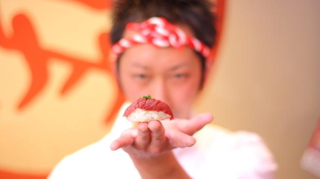 名古屋 名駅 肉寿司 - メイン写真: