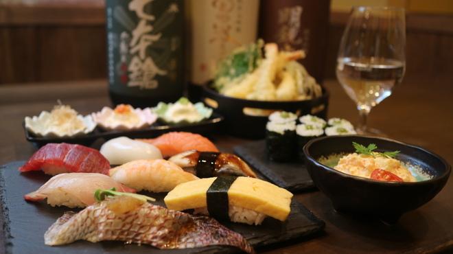 すしいち 大阪駅前第4ビル店 - 東梅田(立ち食い寿司)の写真1