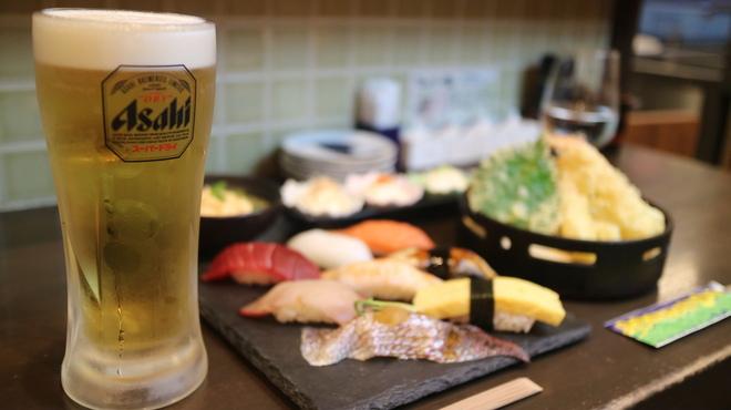 すしいち 大阪駅前第4ビル店 - 東梅田(立ち食い寿司)の写真3