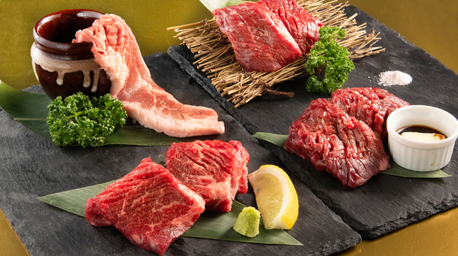 A5仙台牛焼肉 食べ飲み放題 肉十八 - メイン写真: