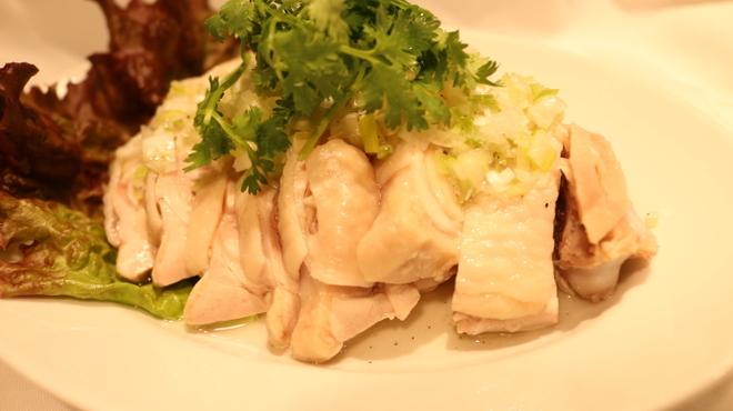 ダリアン - 料理写真:ぷるぷる蒸し鶏