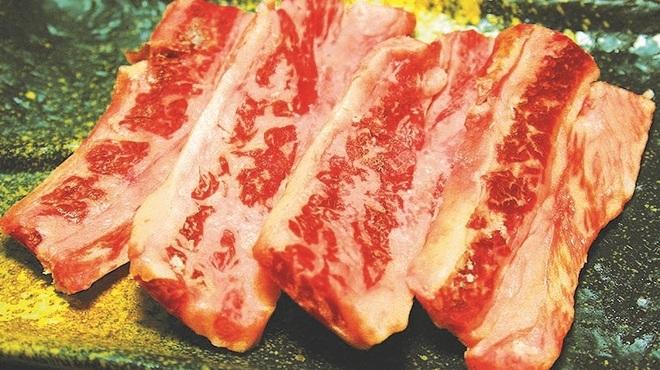 全品380円以下・食べ放題 焼肉勝っちゃん - 料理写真:国産中落カルビ
