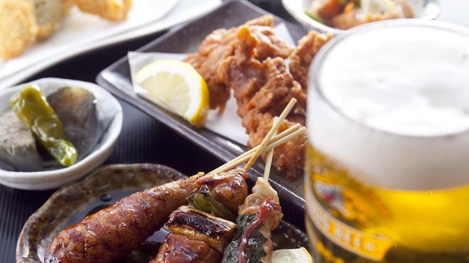 風見鶏 - 料理写真:ビールやハイボール、お酒に合う料理があります。