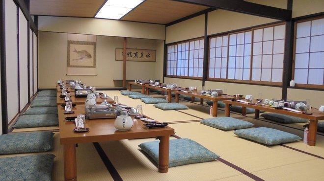 博多水たき元祖 水月 - 内観写真:お二階宴会場は最大40名様まで可