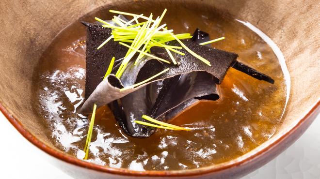 サンタキアラ - 料理写真:岩茸のコンソメ
