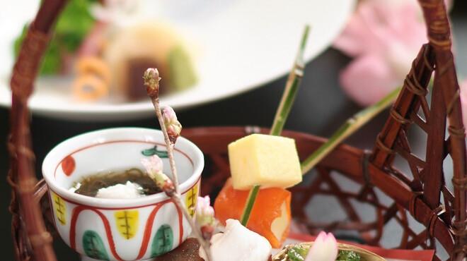 おばな - 料理写真:春の会席一例