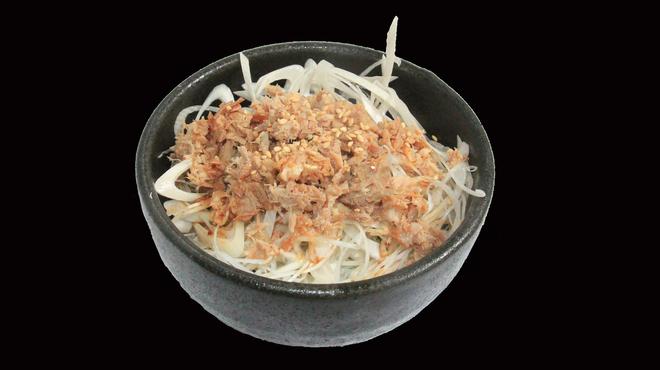麺侍 誠 - 料理写真:ネギ丼