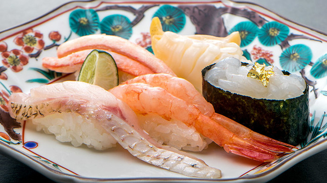 金沢まいもん寿司 - 料理写真:『加賀百万石握り』1320円