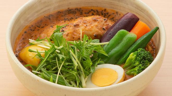 Neco - 料理写真:【ココナッツスープ】まろやかでクリーミーなスープ。女性に大人気♪(+100円です。)