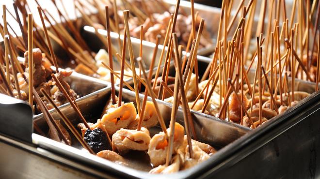 季節料理と静岡おでん しんば - メイン写真:おでんなべ