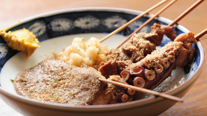 季節料理と静岡おでん しんば - メイン写真:季節のおでん