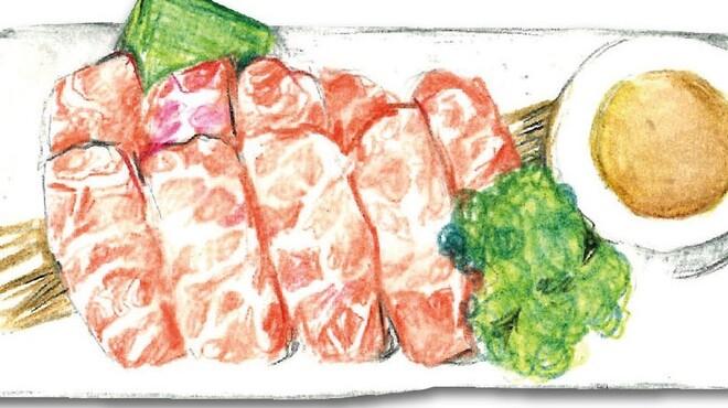 俺の焼肉 - 料理写真:松阪牛の特上カルビ