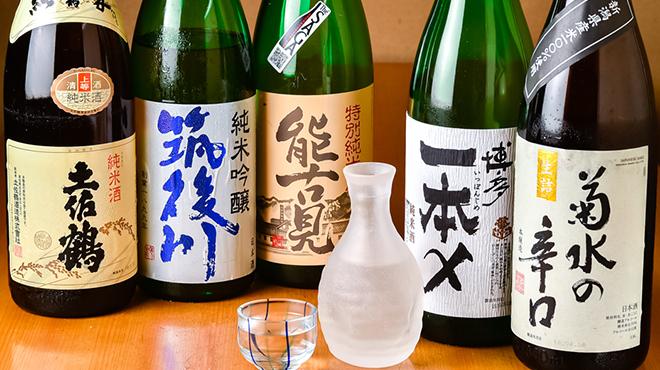 やまちょう - ドリンク写真:日本酒