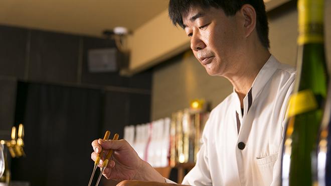 ペスカ - 料理写真::経験豊富なシェフが腕を振るいます
