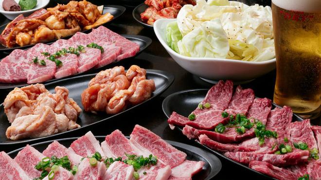 ホルモンバルヤマト - 料理写真:飲み放題付コースも5,000円ポッキリ♪