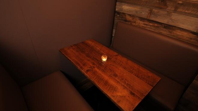 mols - 内観写真:秘密の小部屋は5~6人まで利用できます