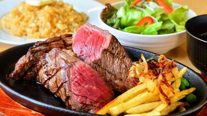 炭火焼きステーキ 肉押し - メイン写真:
