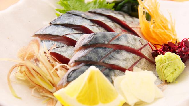鯨海 - 料理写真:活〆サバ刺身
