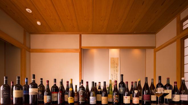 一心鮨 光洋 - ドリンク写真:当店自慢のワインペアリングをご堪能ください