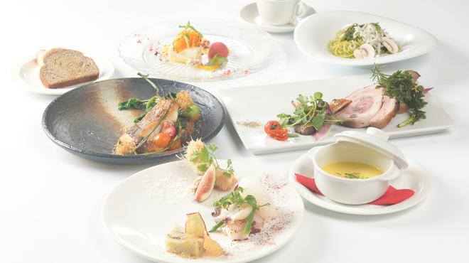 リストランテ アマルフィイ - 料理写真:秋の味覚たっぷり。季節のコース