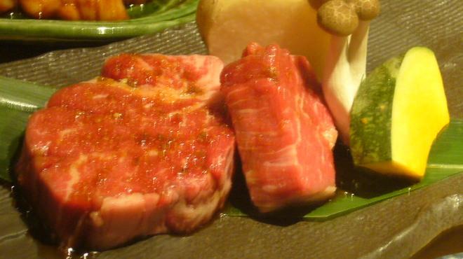 正力 - 料理写真:特選厚切りヒレ(\1580)