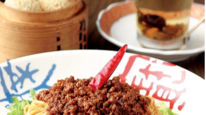 香家 - 料理写真:香家オリジナルの汁なし担々麺と香港スイーツをどうぞ!