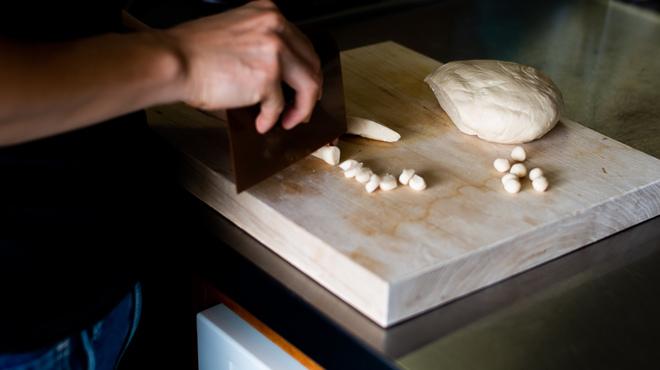 雪ノ下 - 料理写真:タピオカは粉からつくります