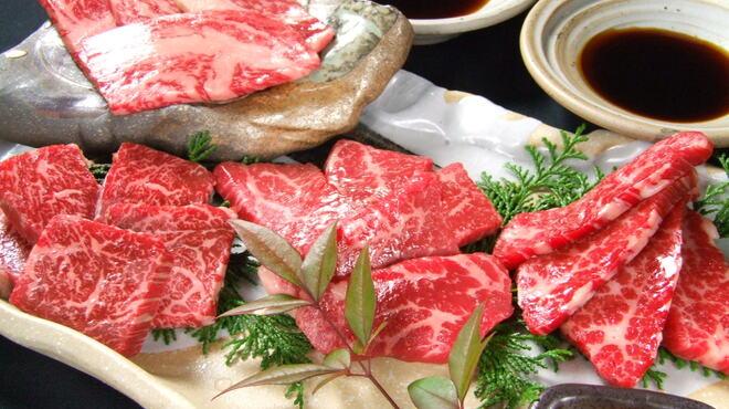 炭火焼肉 ごえ門 - 料理写真:姫盛り 厳選めす牛の盛り合わせ