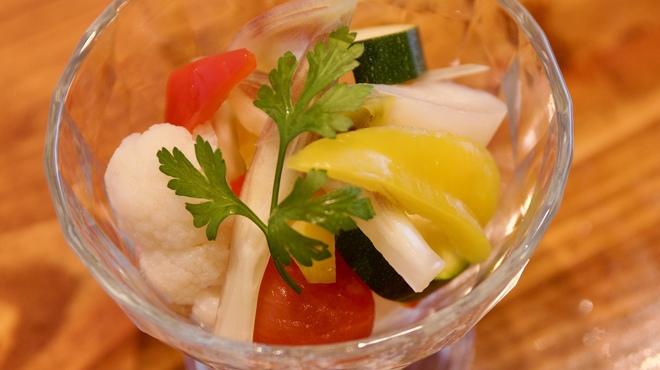 スペインバル カバナ - 料理写真:色々野菜のピクルス
