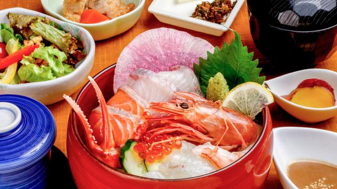 魚平 - 料理写真:ランチ御膳