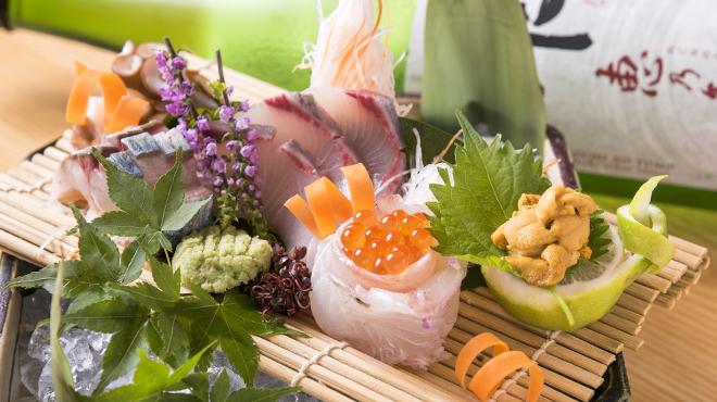 酒菜処 きっすい - メイン写真:お造りの盛り合わせ