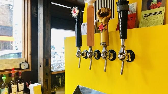 ニュートバコ - ドリンク写真:オリジナルのクラフトビールサーバー