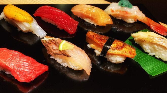 寿司 さ々木 - 料理写真:おまかせ8,000円コース
