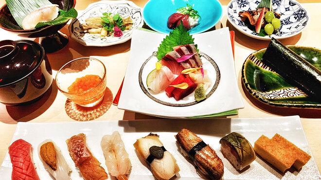 寿司 さ々木 - 料理写真:おまかせ10,000円(お造り付)