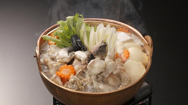 海鮮れすとらん四季庵 - 料理写真:てっちり鍋