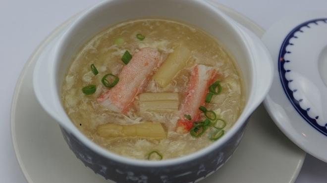 フォー ベト レストラン - 料理写真:カニとアスパラガスのスープ