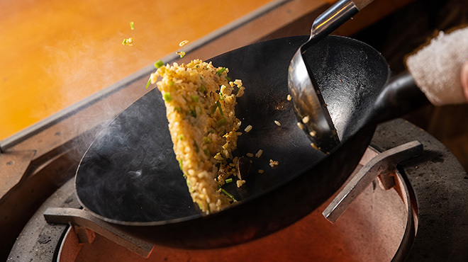 赤ふじ - メイン写真:焼き飯