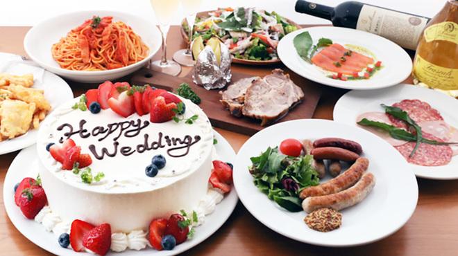 コーデュロイカフェ - 料理写真:wedding course