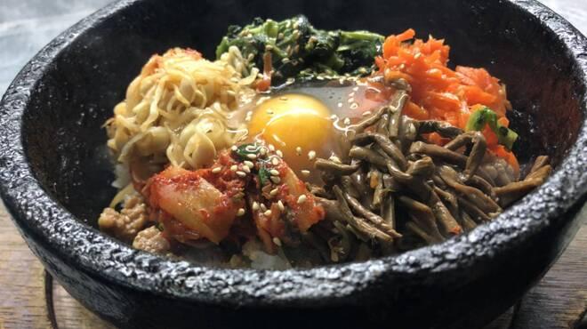 琉球Heat - 料理写真:石焼ビビンバ