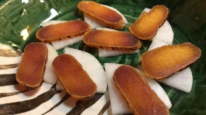 たけ蔵 - 料理写真:自家製唐墨 日本三大珍味