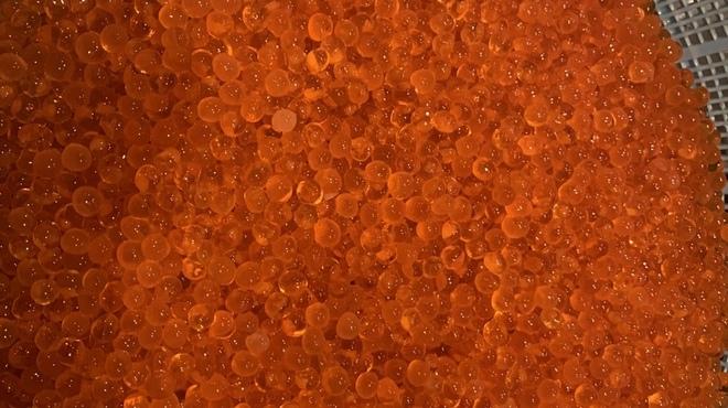 たけ蔵 - 料理写真:自家製プチプチイクラ醤油漬け